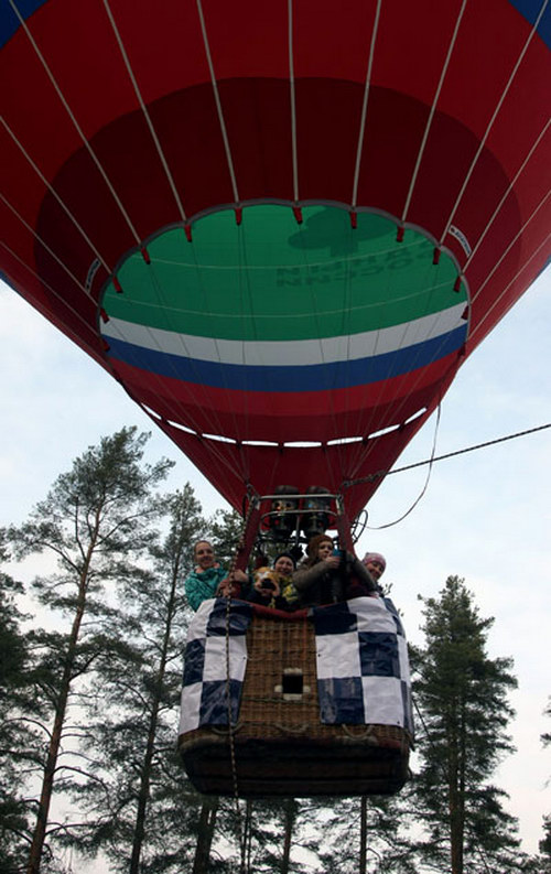 Teambuilding Hot Air Ballooning