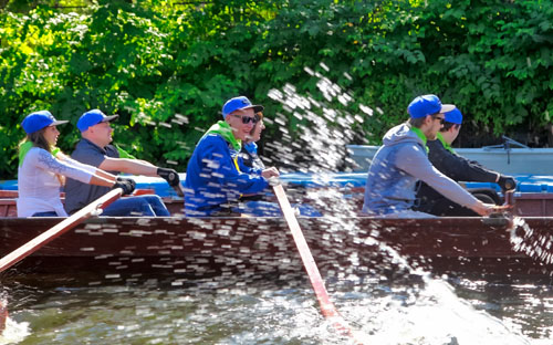 Teambuilding Rowing Regatta